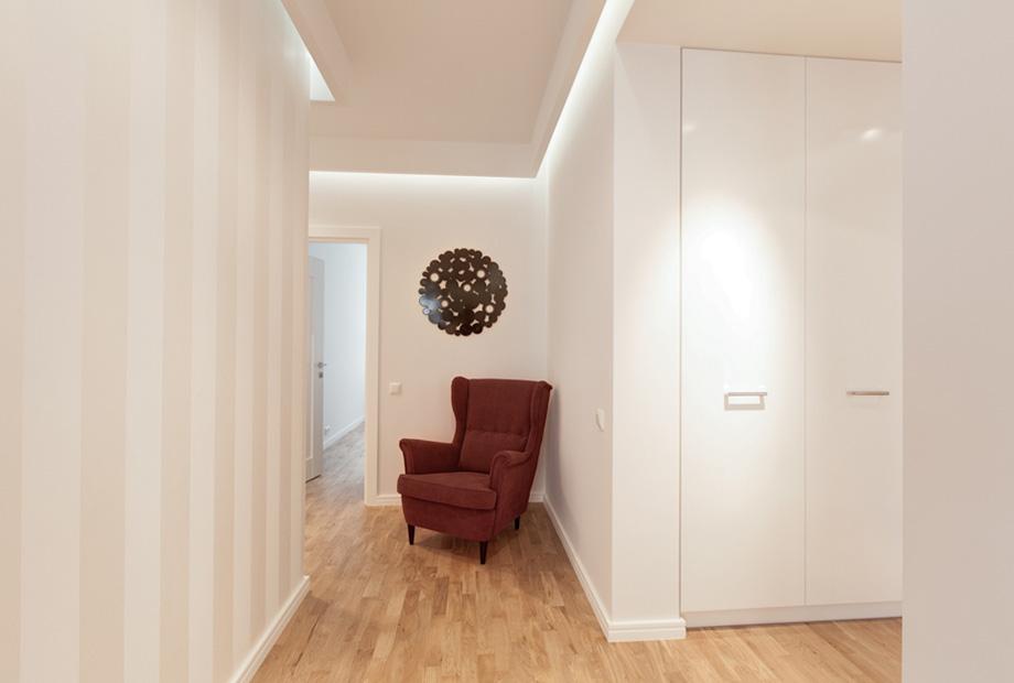 krasinskiego29a-032 Wnętrze w stylu neo-retro – sztuka łączenia dodatków