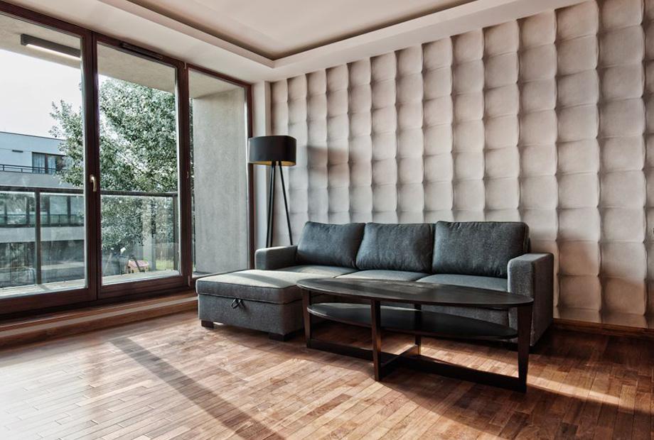 Wilanów51m, 2 pokoje, Inwestycyjne – nasze aranżacje wnętrz