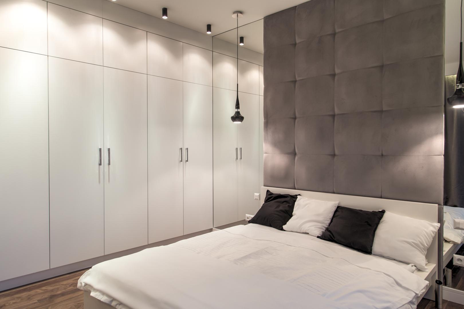 Sypialnia w stylu awangardowym
