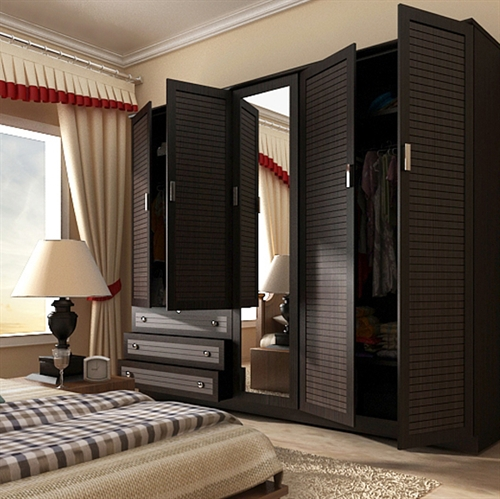 szafa-do-sypialni Szafa w sypialni a przechowywanie odzieży