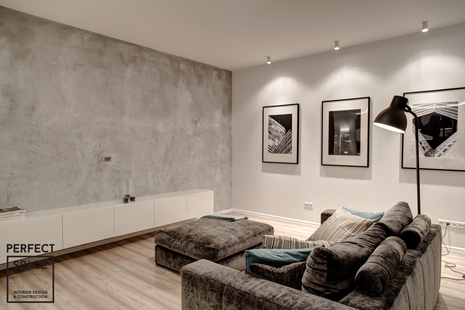 nowoczesna-aranzacja-wnetrz-perfectspace-salon Nowoczesny luksus - inspirująca i funkcjonalnaaranżacja