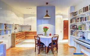 55m, 2 pokoje,  Kulinarnie – nasze aranżacje wnętrz 1 - Perfectspace