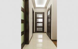 74m, 4 pokoje, Ciemny Błysk – nasze aranżacje wnętrz 1 - Perfectspace