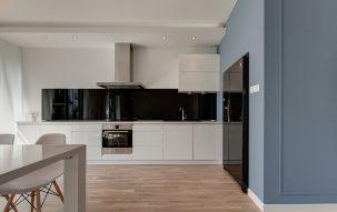 91m, 3 pokoje, Niebiesko – nasze aranżacje wnętrz 1 - Perfectspace