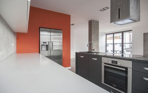 Mokotów<br/>89m, 2 pokoje, Surowe Piękno – nasze aranżacje wnętrz 1 - Perfectspace