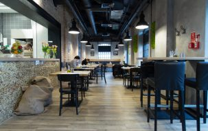 """Stacja Wawer"" restaurant 1 - Perfectspace"