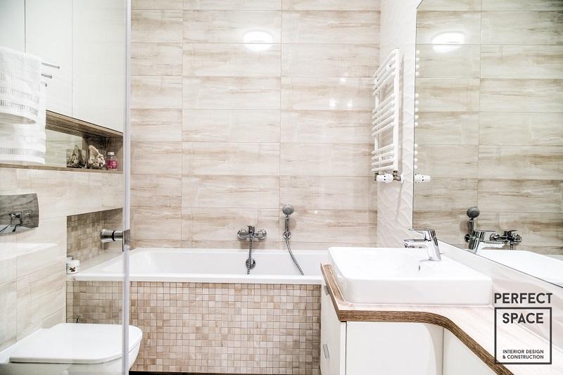 Klasyczny grzejnik w aranżacji łazienki